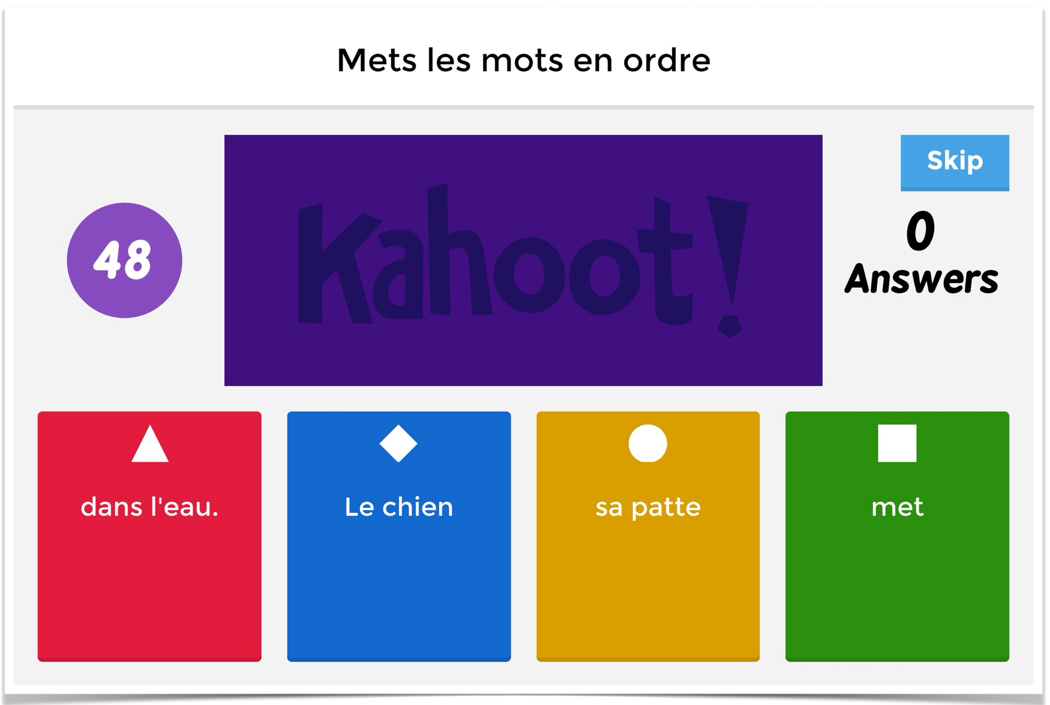 Kahoot 6 Creative Ways To Use The New Jumble Feature On Kahoot