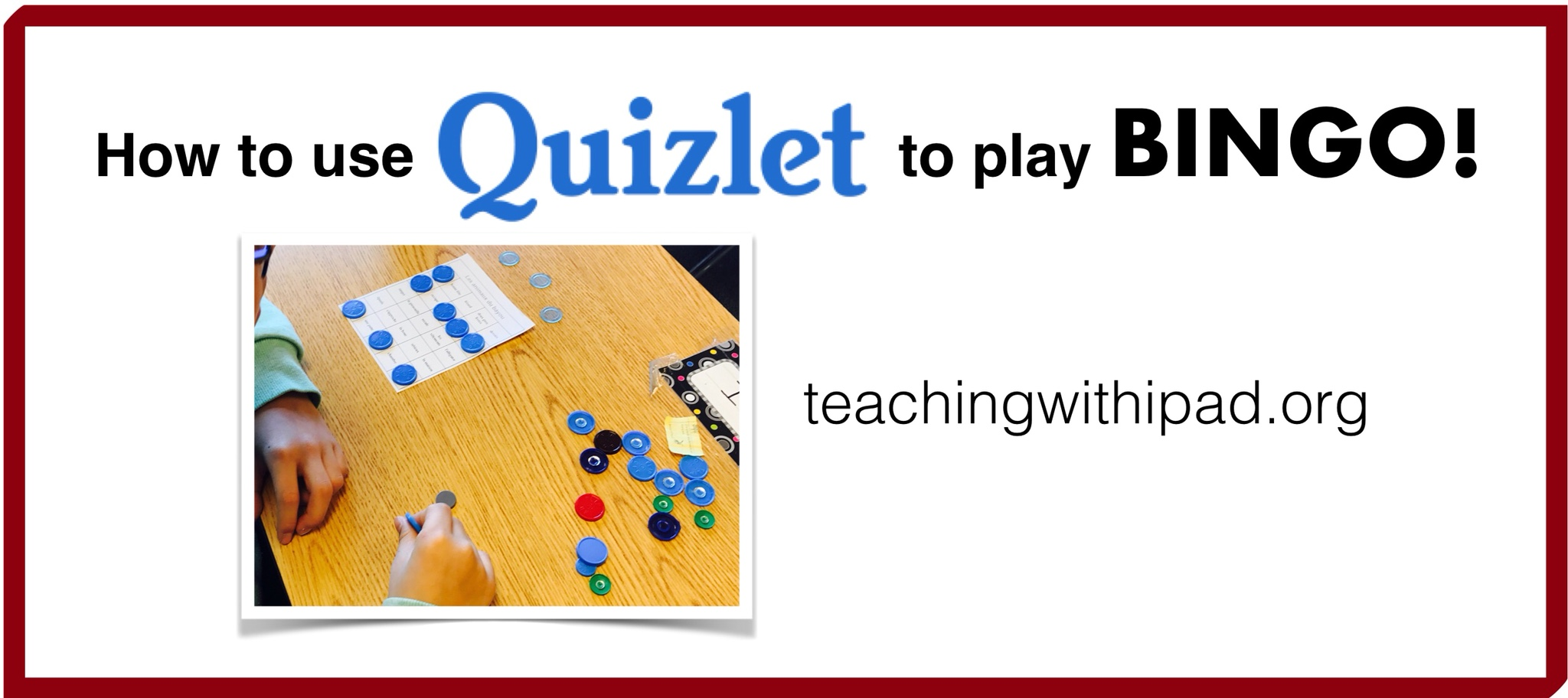 use quizlet to play