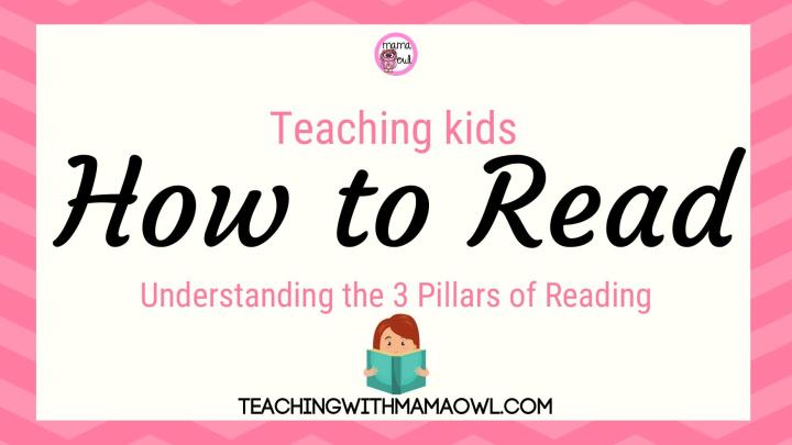 Teaching Kids How to Read