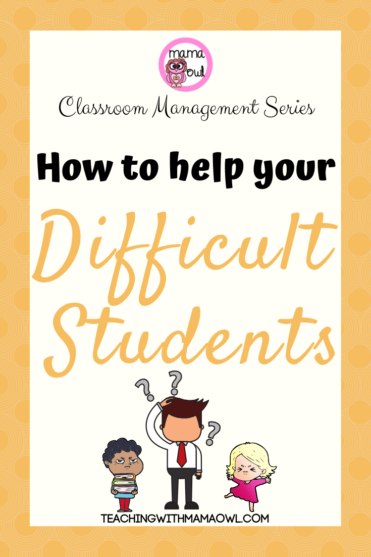 How to help your difficult students pin