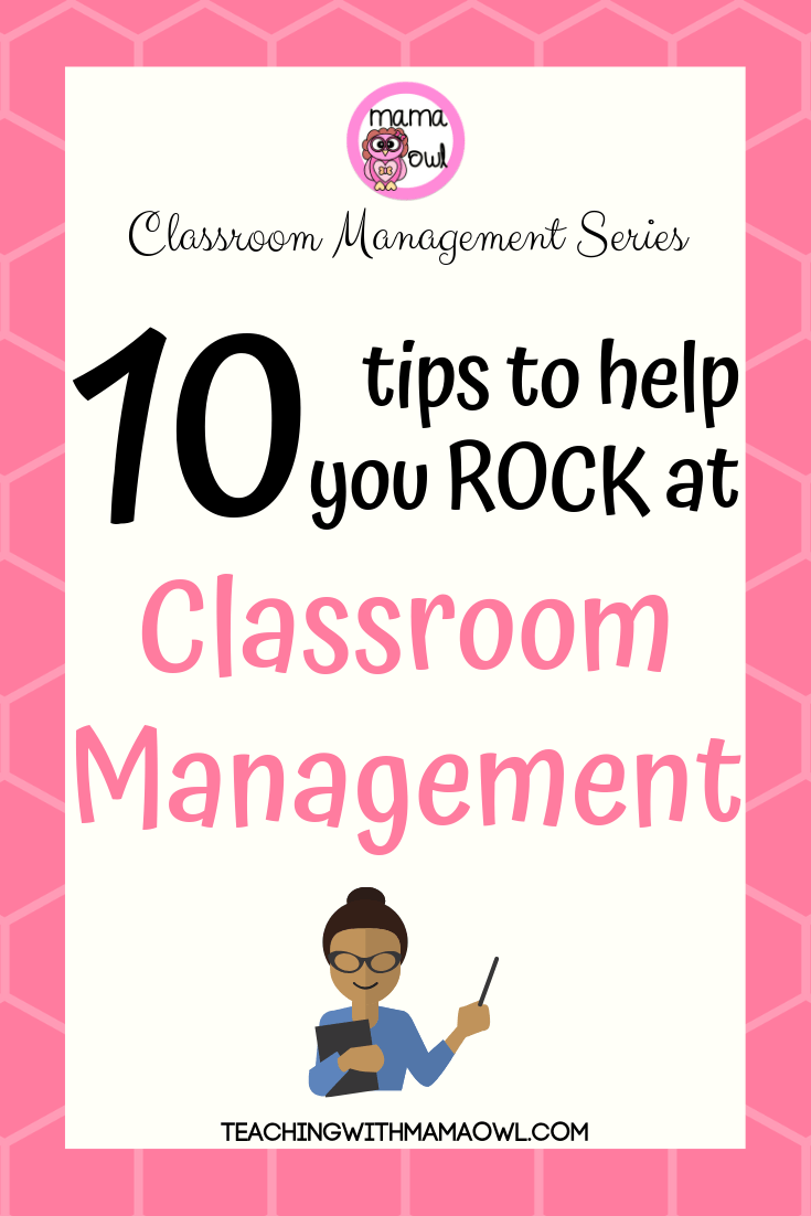 Teacher Classroom Management Tips