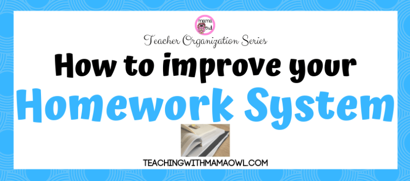 Improve your homework system