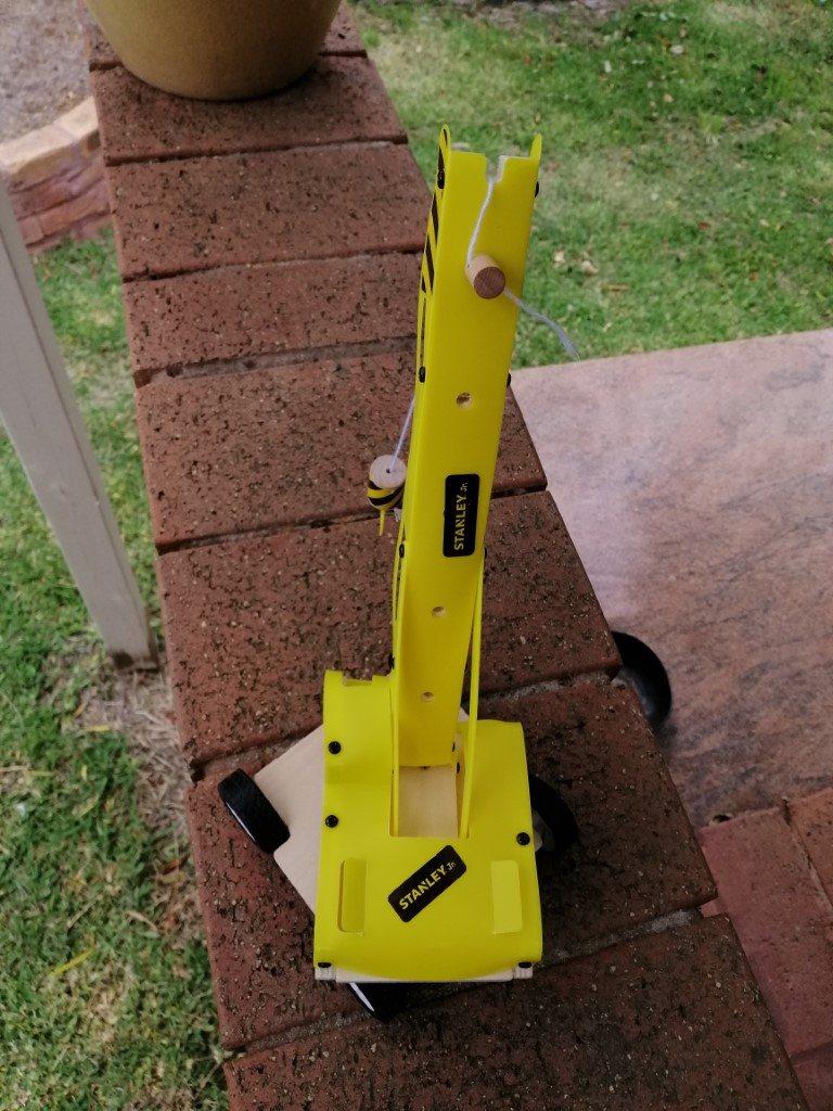 Finished lifting crane 3