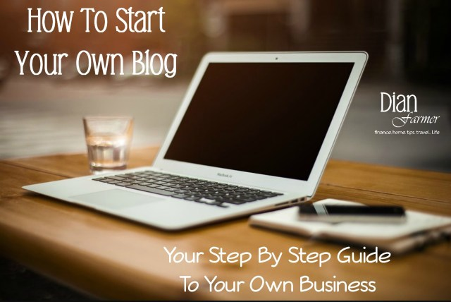 Starting A Blog?  Check Out Our Step By Step Guide!
