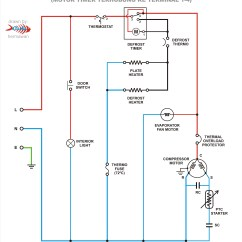 Wiring Diagram Of Refrigerator Mppt Charge Controller Circuit Refrigeration True