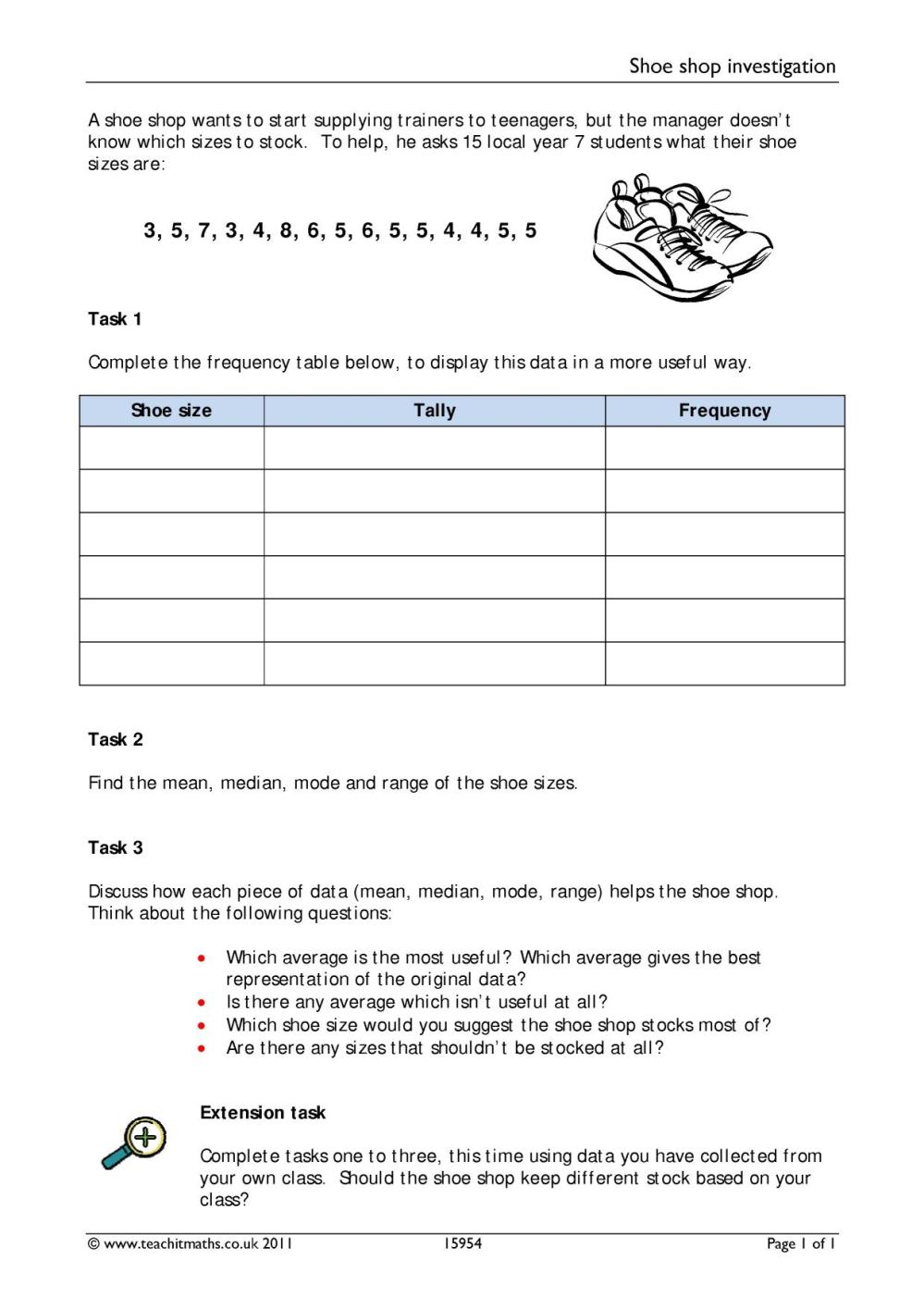 medium resolution of Mean Median Mode Rnage Worksheets   Printable Worksheets and Activities for  Teachers