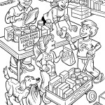 Friend October 2015 coloring page