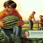 "Friend August 2015 ""The watermelon thieves"""