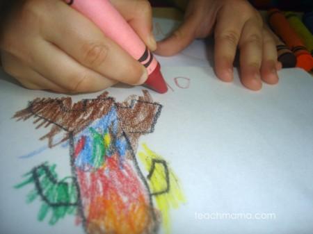 teach kids grip: thick crayons   teachmama.com