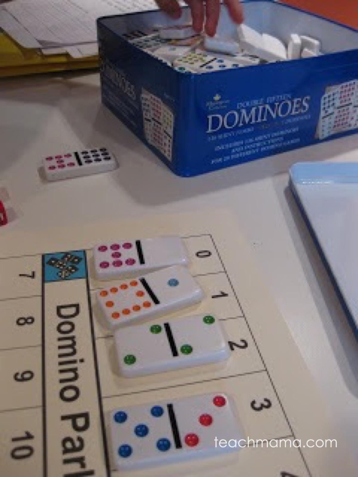 domino parking lot || teachmama.com