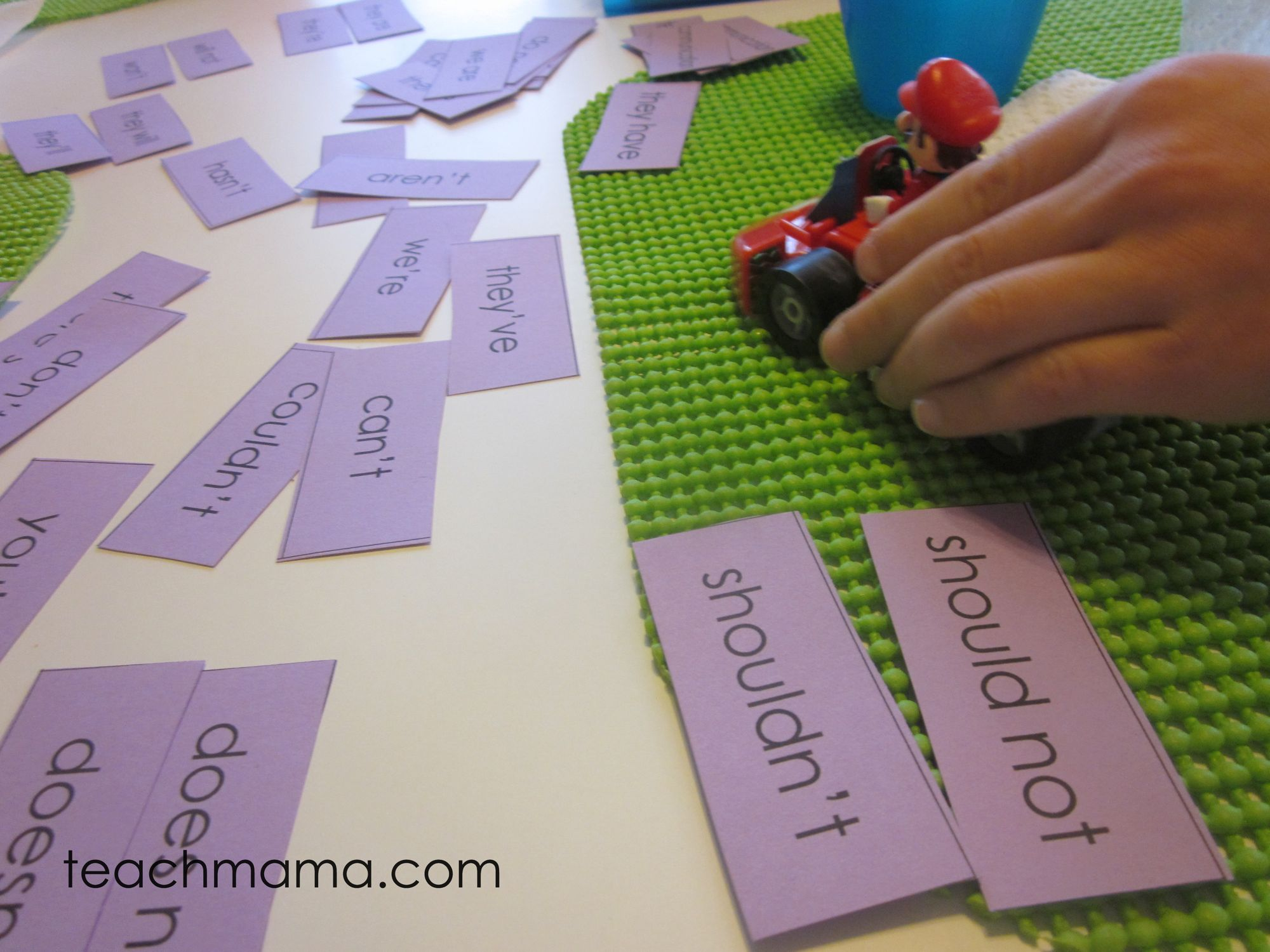 Learning To Spell Contractions Sneaky Games And Play