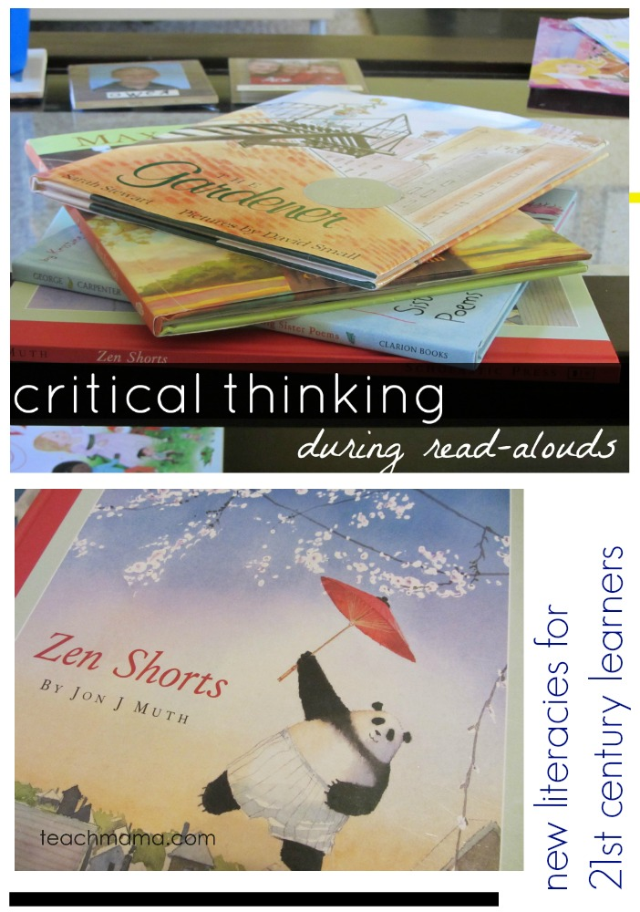 critical thinking during read alouds