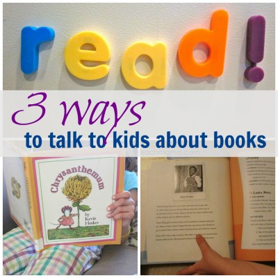 read and talk with your kids