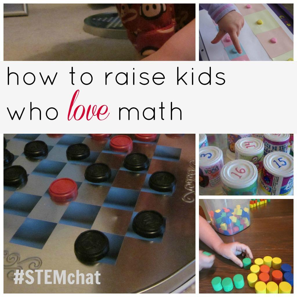 how to raise kids who love math