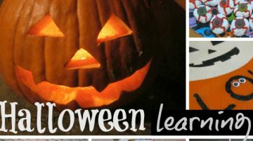 halloween learning