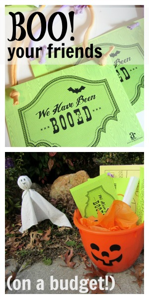 how to boo your friends -- halloween giving