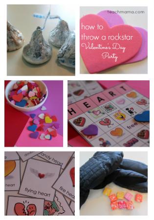 how to throw a rockstar valentine's day party   teachmama.com