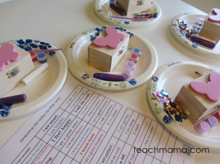 butterfly birthday bash - boxes
