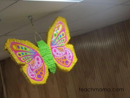 butterfly birthday bash - pinata