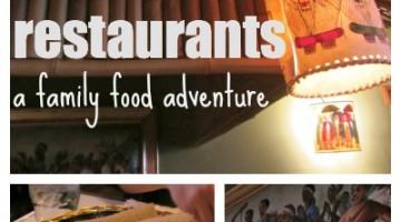 ethnic restaurant family food adventure
