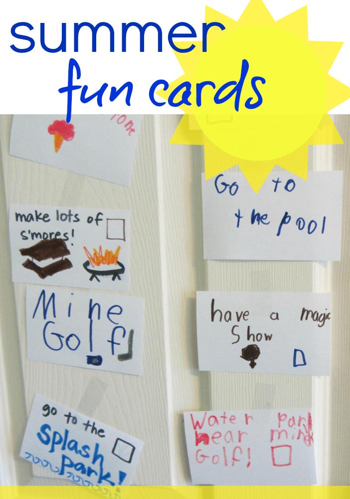 summer fun cards 2013