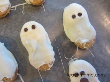 spooky halloween cookies collage