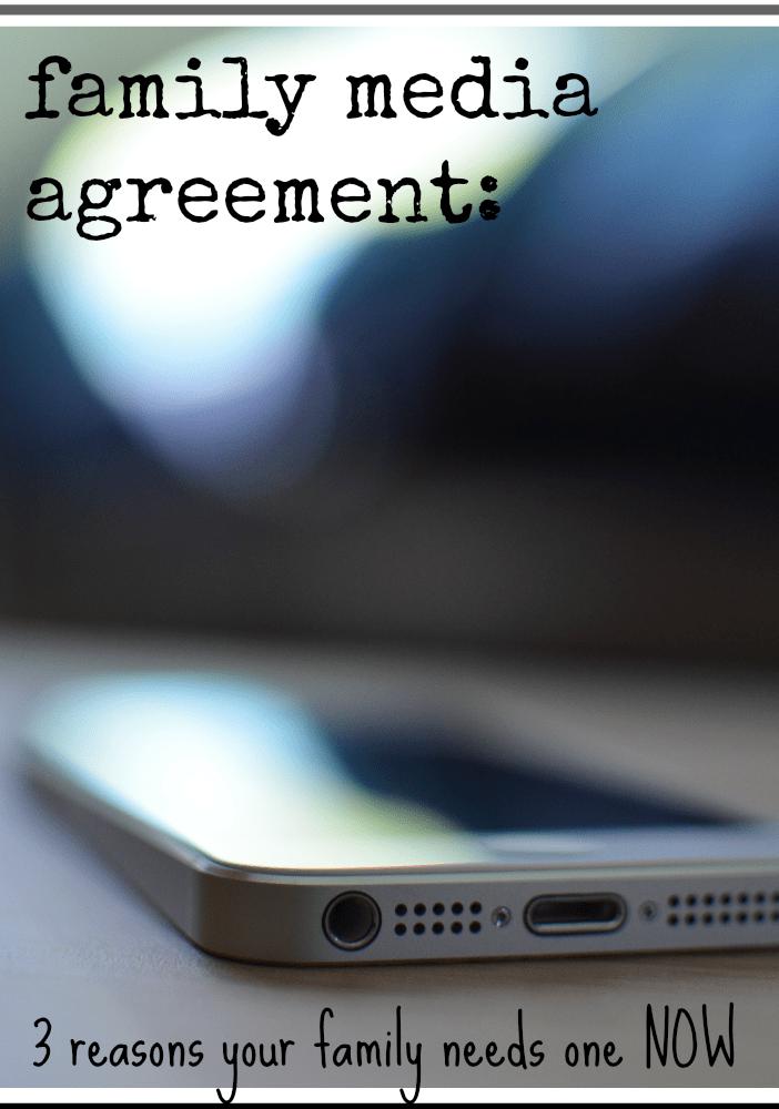 family media agreement