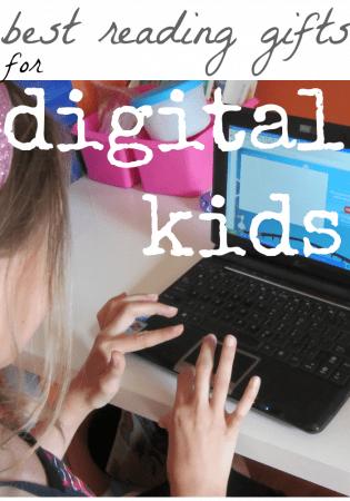 best reading gifts for digital kids