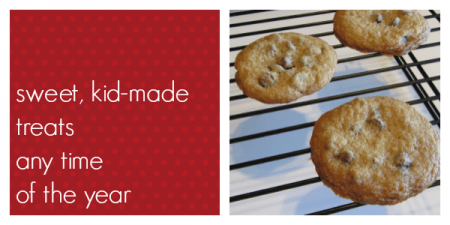 holiday baking with kids