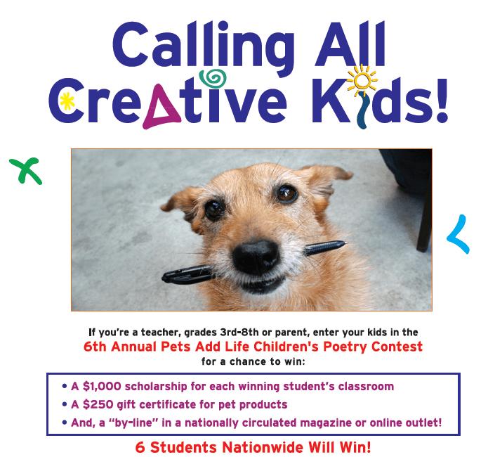 pal pet poetry contest
