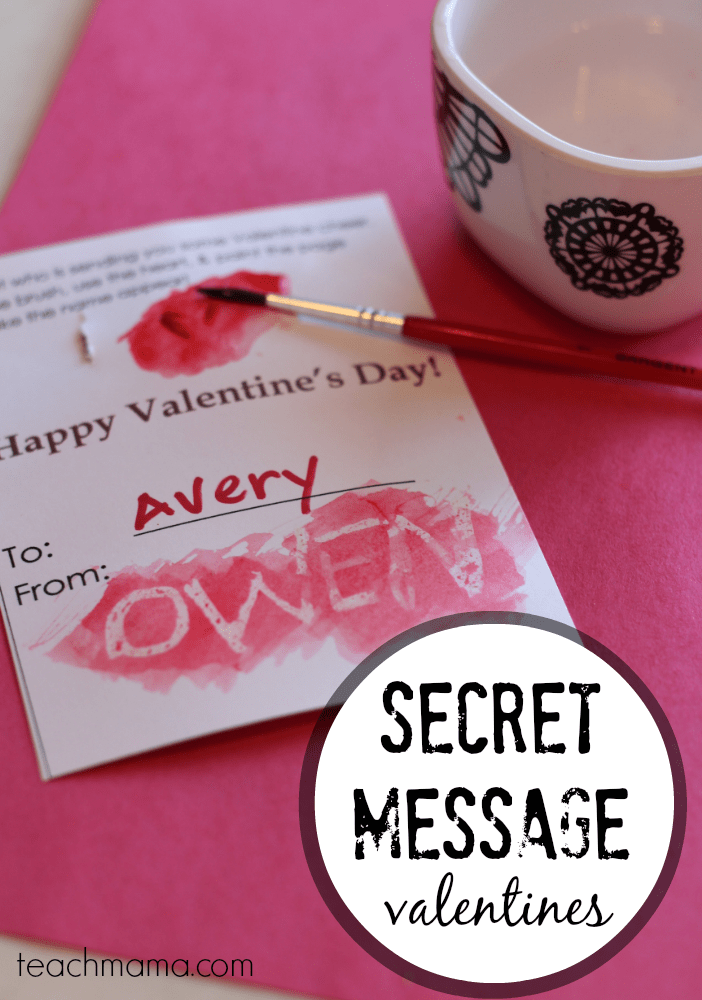 Secret Message Valentines Homemade Candy Free Totally