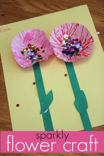 Flower Art Project Toddlers Year Of Clean Water