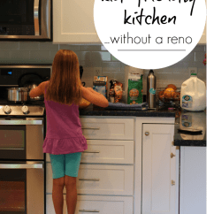 Kitchen Kid Covered Outdoor Make A Friendly Without Major Renovation Teach Mama Teachmama Com Png