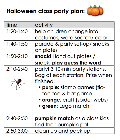 halloween party ideas for