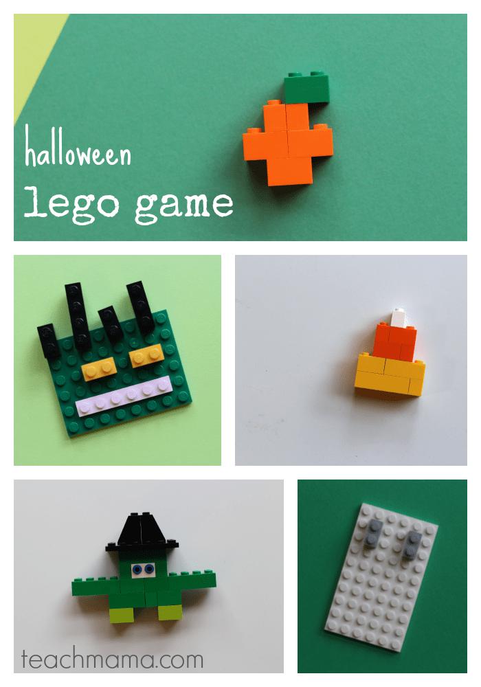 halloween lego game: unplugged, creative fun   teachmama.com