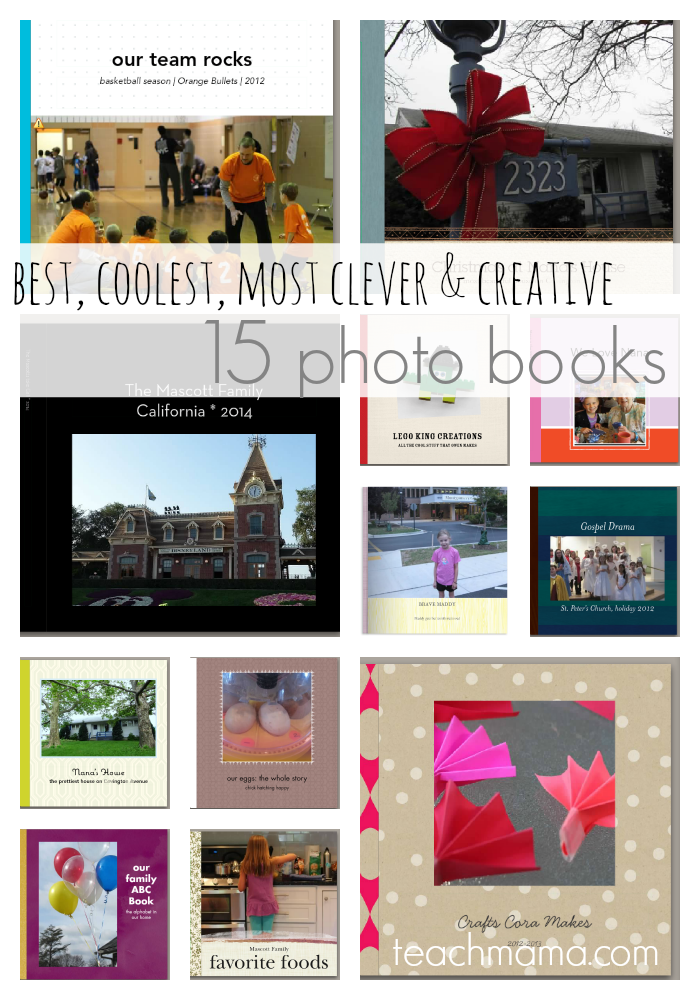photo books for kids and family: 15 best, coolest, most clever and creative