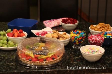 best bunco game night snack ideas   teachmama.com