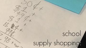 school supply shopping teachmama.com