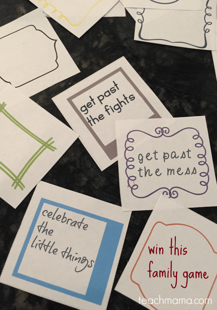 win at the family game | teachmama.com cover