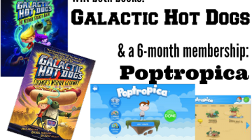 fun summer series for reluctant readers: Galactic Hot Dogs
