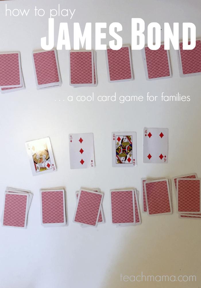 how to play james bond | card game for families | teachmama.com