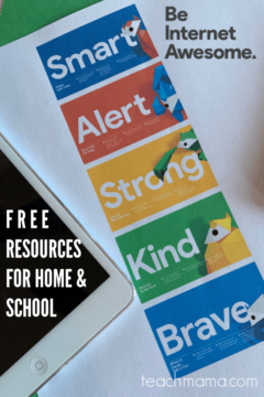 Be Internet Awesome—free resources to help keep kids internet safe