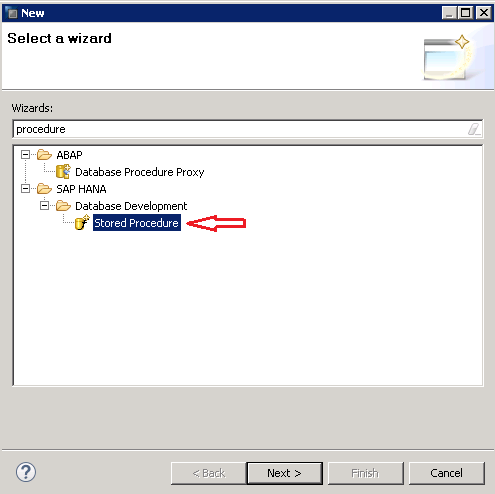Sap hana Hdb stored procedure procedures Part 1