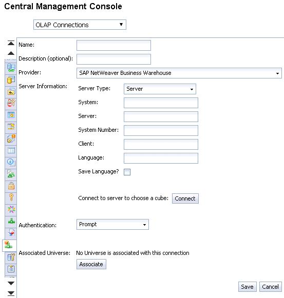 SAP busineess Objects OLAP Connection -SAP HANA Tutorial