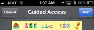 Kid's Mode, Guided Access, Kid Mode, Single App Lock Mode,