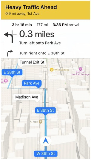 How to save battery life while using Turn by Turn directions with Apple Maps App