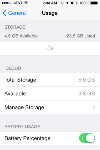 iOS 7 Quick Tip: How to activate the battery percentage indicator on iPhone, iPad (Mini), and iPod Touch