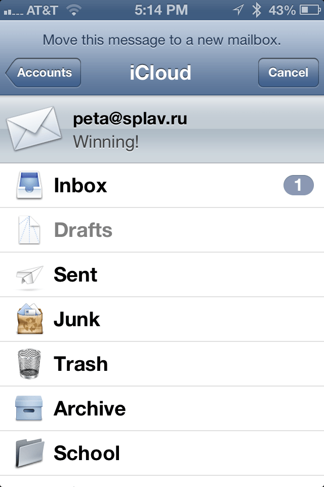how to prevent junk mail on my ipad