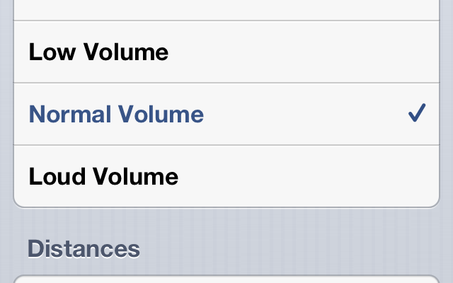 How to adjust volume for Maps App Turn-by-turn Directions in iOS 6