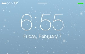 Forecast Use Live Animated Weather As Wallpaper On Jailbroken